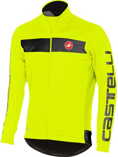 Castelli Raddoppia Jacket Men yellow fluo/reflex